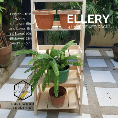 Ellery 4 Layer Fixed Rack