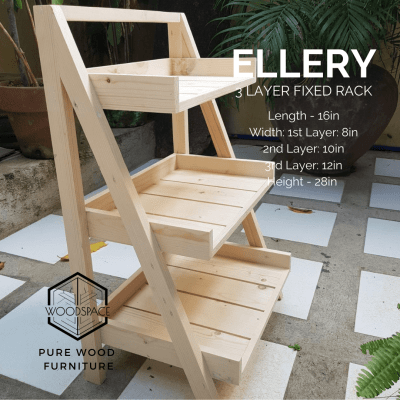Ellery 3 Layer Fixed Rack