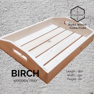 Birch Wooden Tray