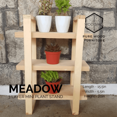 Meadow Mini Plant Stand – 3 Layer