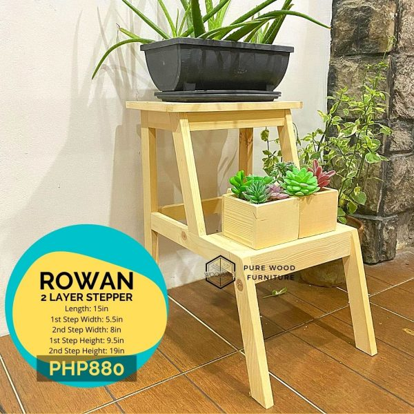 Rowan 2 Layer Riser Rack
