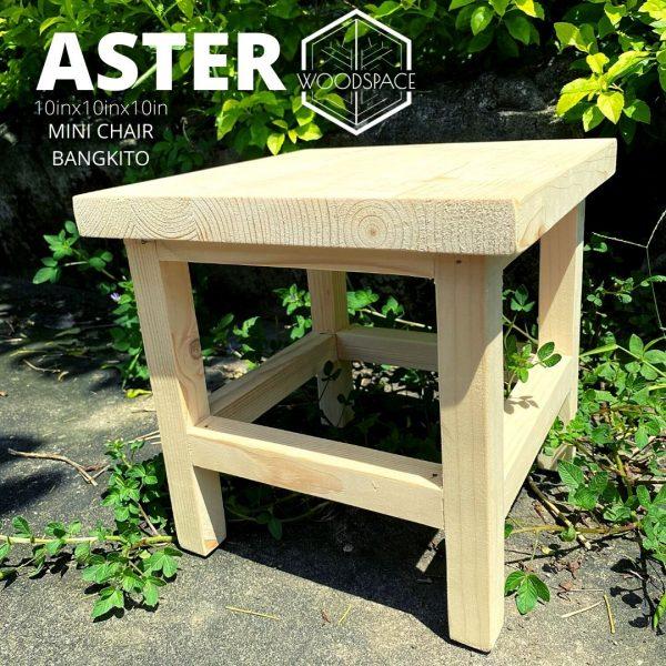 Aster Mini Chair Bangkito
