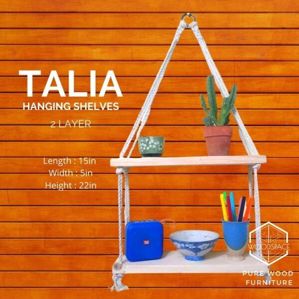 Talia Hanging Shelves
